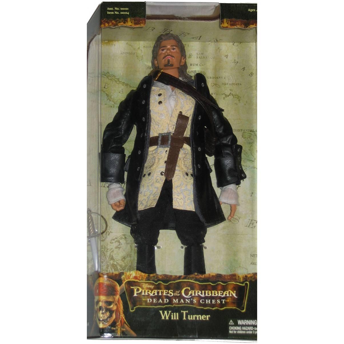 Piratas do Caribe - Will Turner - 30 cm