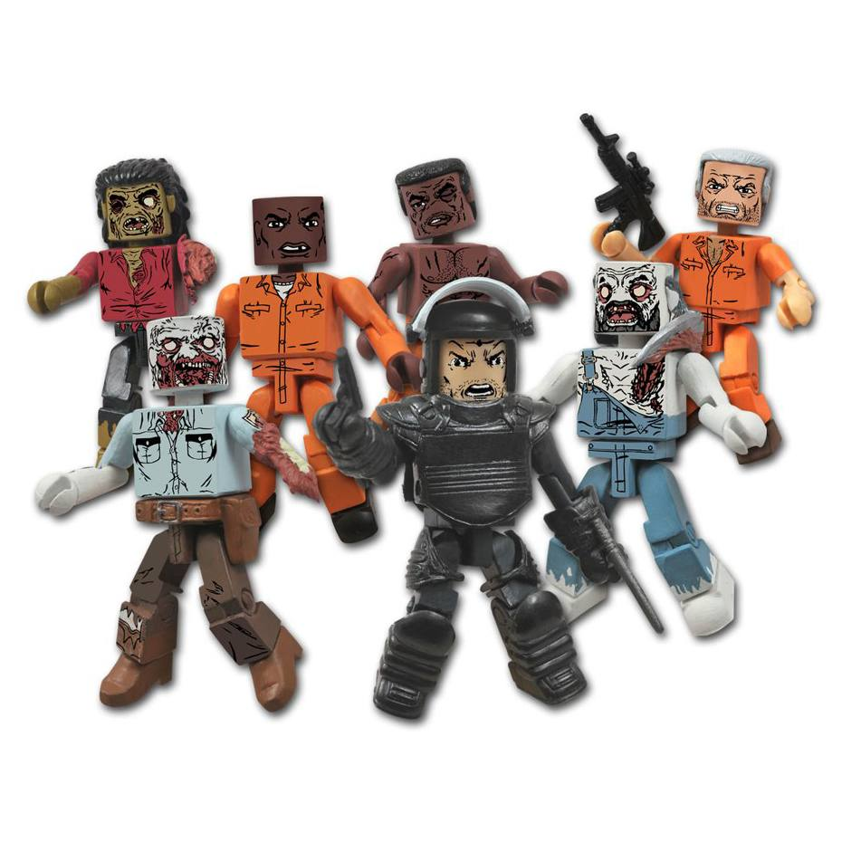 The Walking Dead - Minimates Series 03 - com 8 personagens