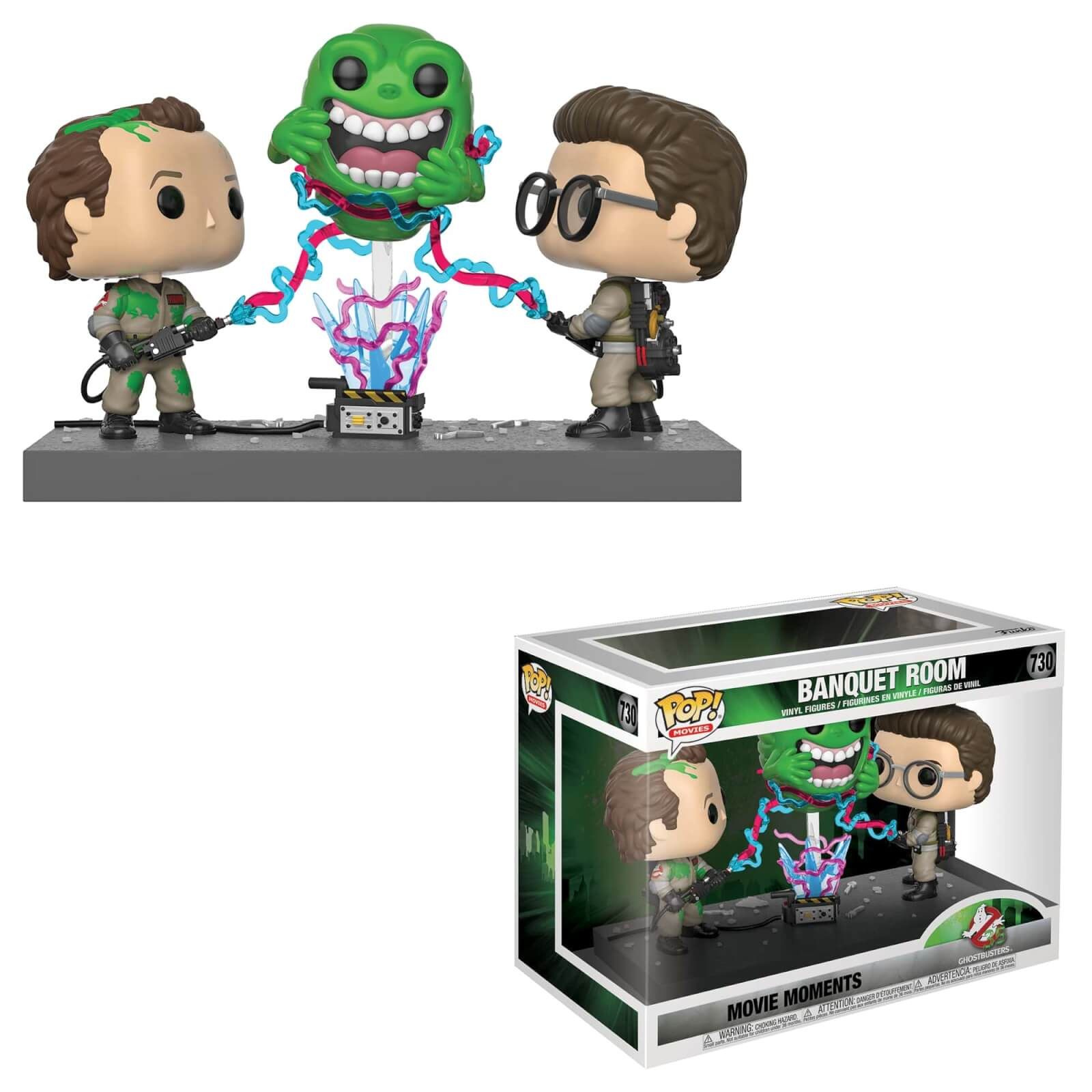 POP FUNKO - GHOSTBUSTERS MOMENTOS - BANQUETE ROOM