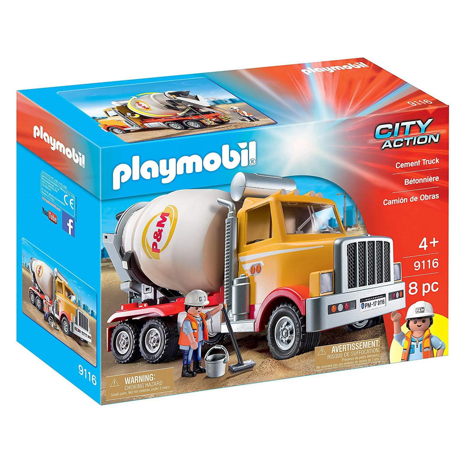 PLAYMOBIL - CAMINHÕES - BETONEIRA - 9116