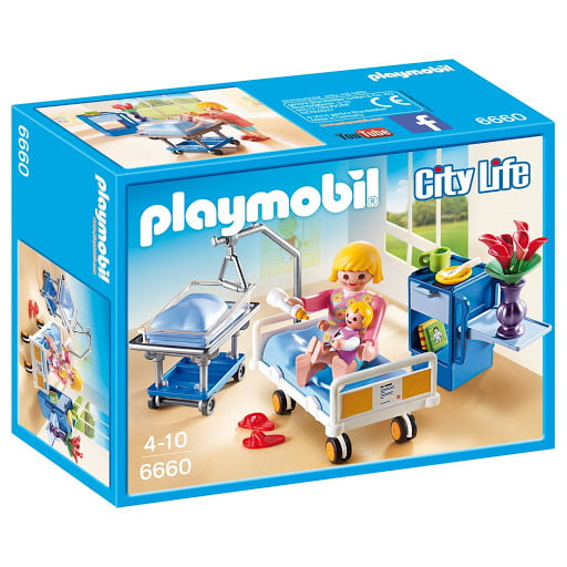 PLAYMOBIL - CITY LIFE - CONSULTÓRIO PEDIÁTRICO - 6660
