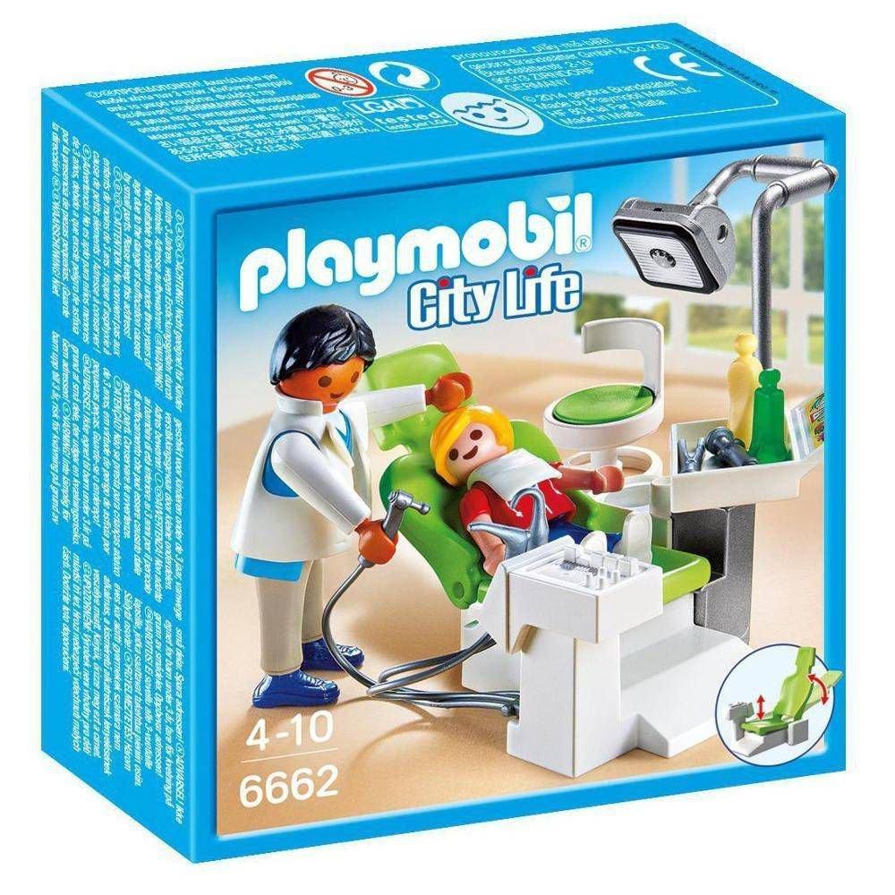 PLAYMOBIL - CITY LIFE - DENTISTA - 6662