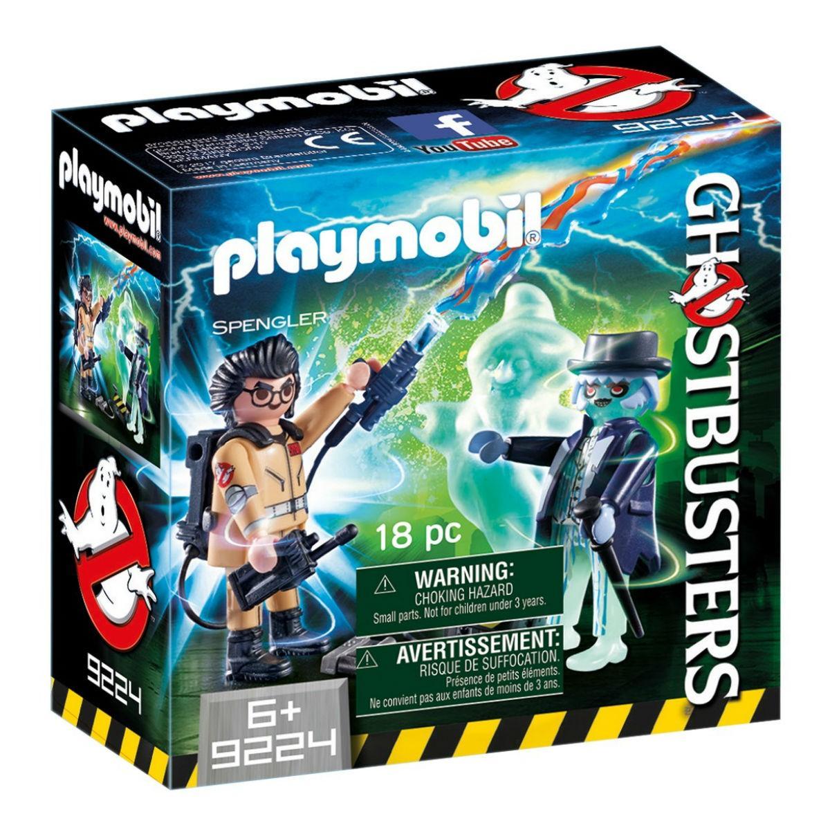 PLAYMOBIL - GHOSTBUSTERS - SPENGLER - 9224
