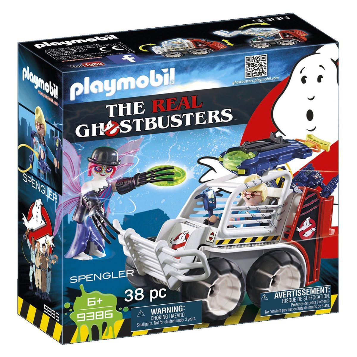 PLAYMOBIL - GHOSTBUSTERS - SPENGLER - CARRO - 9386