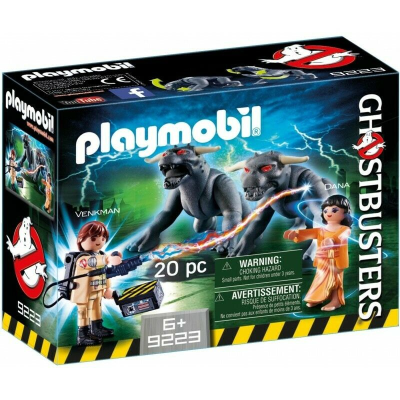 PLAYMOBIL - GHOSTBUSTERS - VENKMAN E OS CACHORROS DO TERROR - 9223