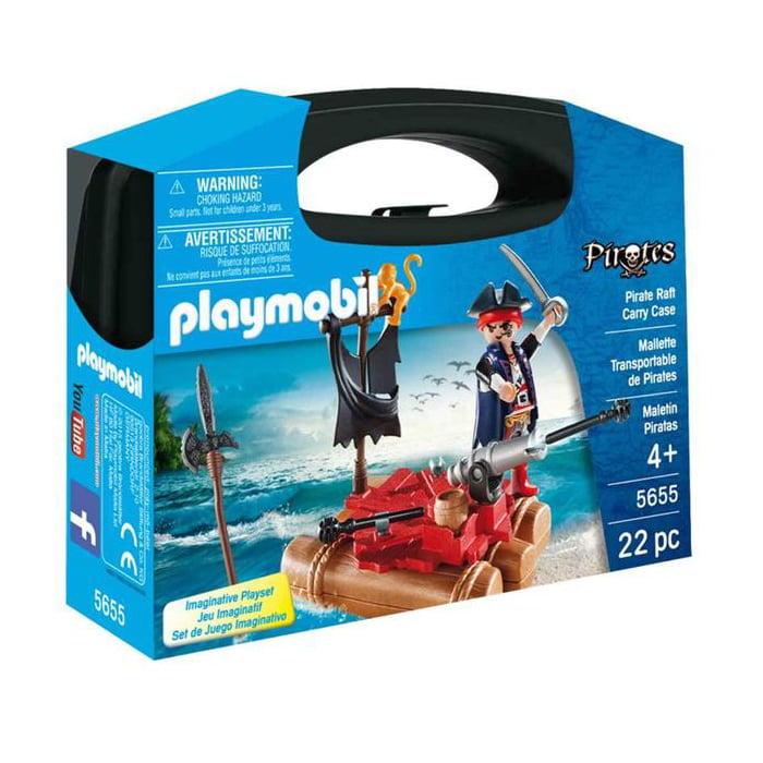 PLAYMOBIL - MALETAS - PIRATAS Mini