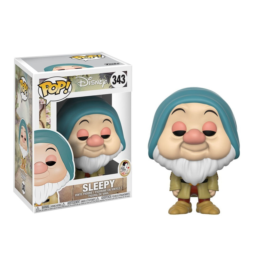 POP FUNKO - DISNEY - A BRANCA DE NEVE - SLEEPY