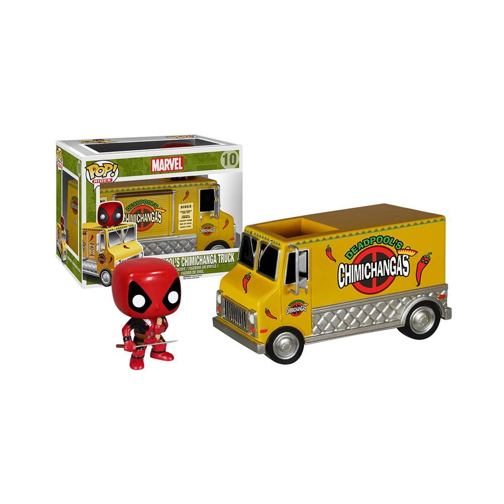 POP! Marvel - Deadpool Chimichanga Truck