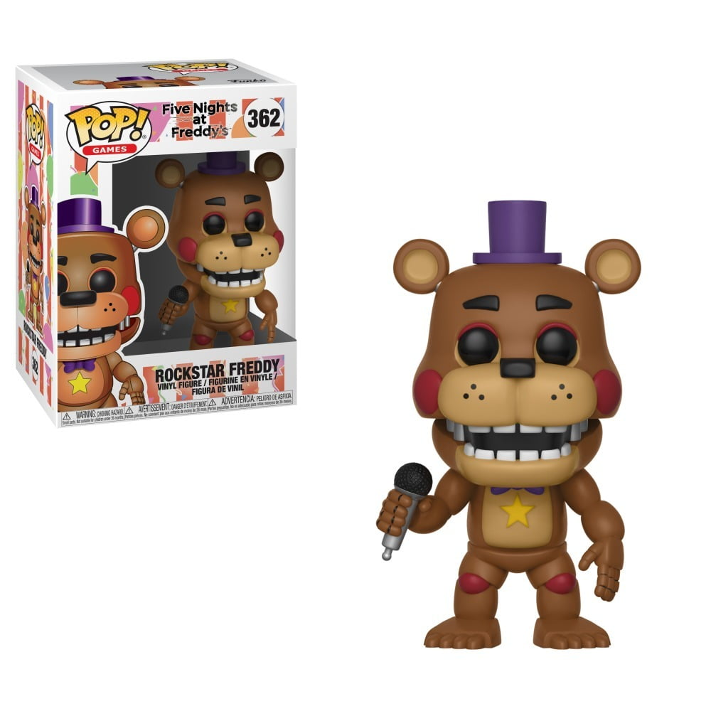 POP! FIVE NIGHTS AT FREDDYS - ROCKSTAR FREDDY