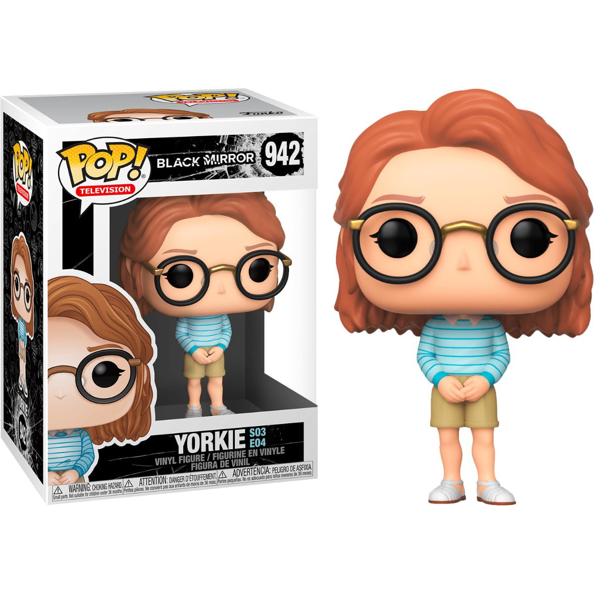 POP! FUNKO - BLACK MIRROR - YORKIE