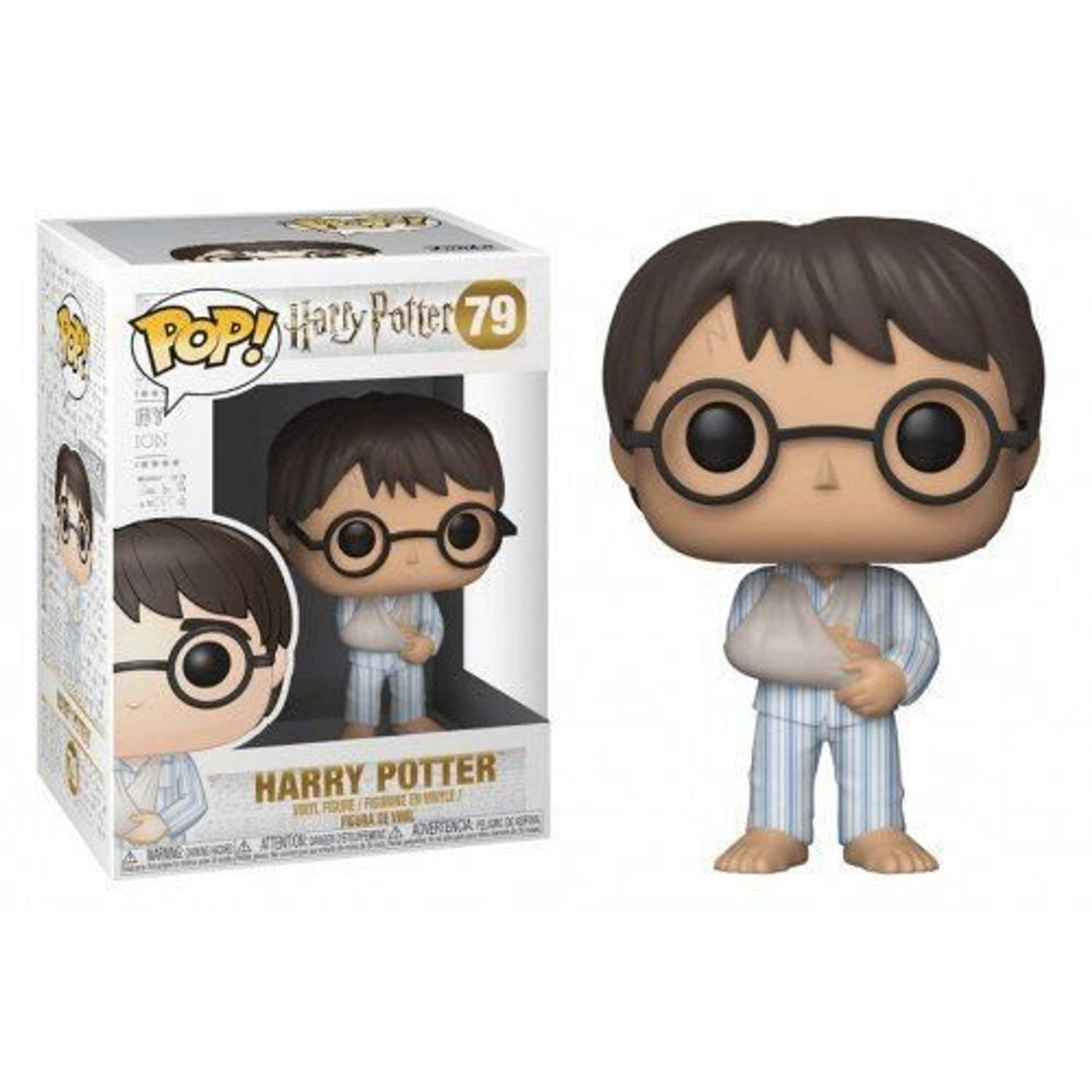 POP! FUNKO - HARRY POTTER - HARRY POTTER COM BRAÇO ENFAIXADO