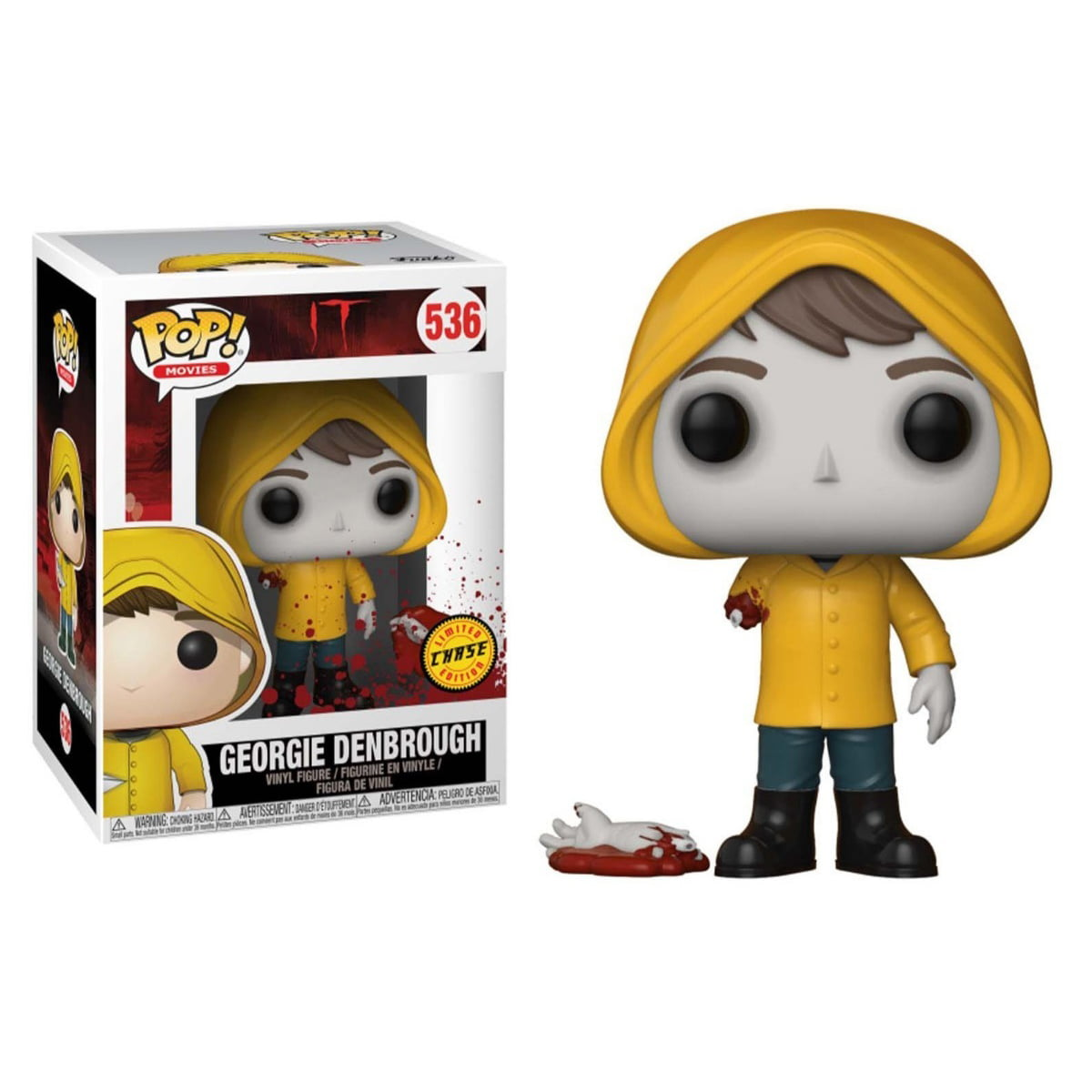 POP! FUNKO - IT - GEORGIE DENBROUGH - LIMITED CHASE EDITION