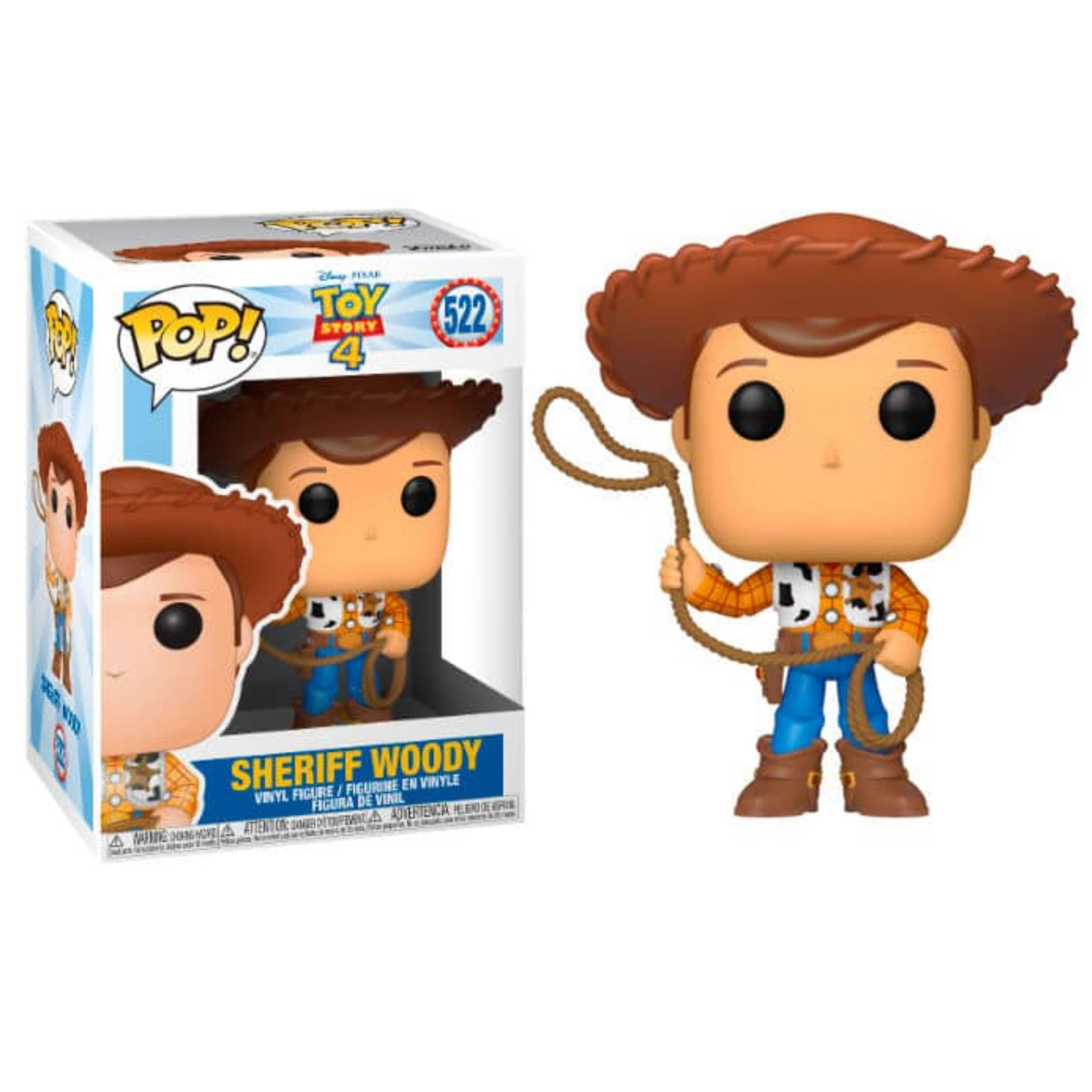 POP! FUNKO - TOY STORY 4 - SHERIFF WOODY