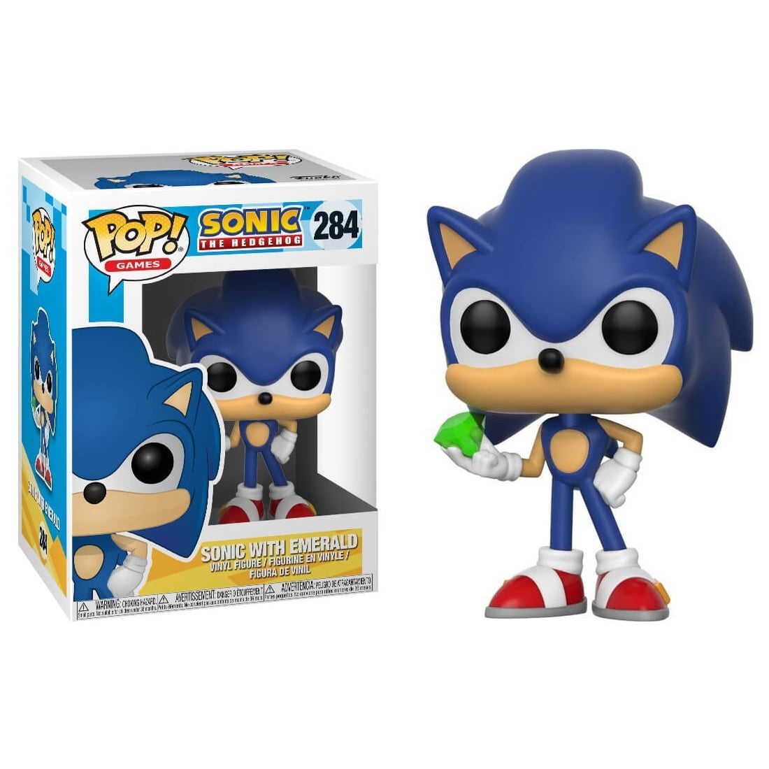 POP! SONIC THE HEDGEHOG - SONIC WITH EMERALD