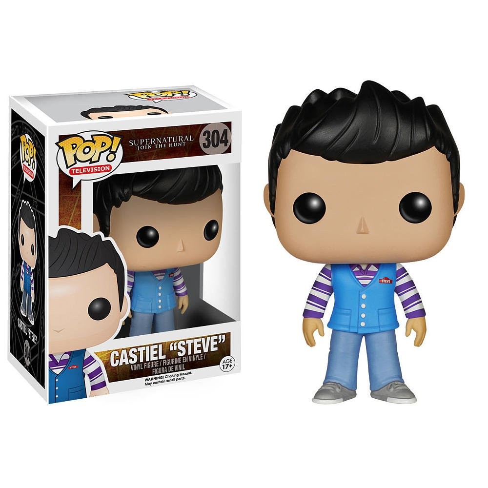 "POP! Supernatural - Castiel ""Steve"""
