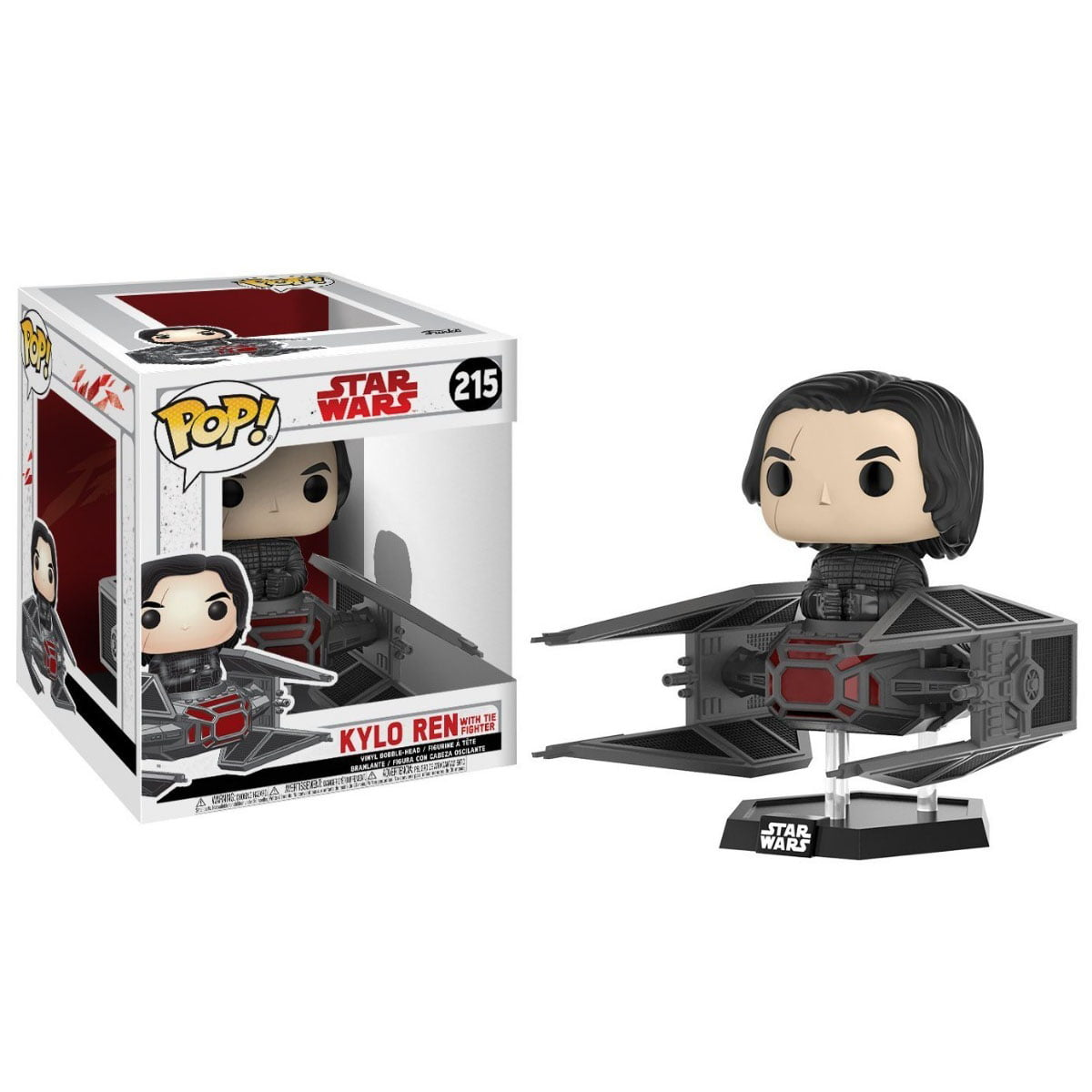 POP! Star Wars - Kylo Ren com Tie Fighter