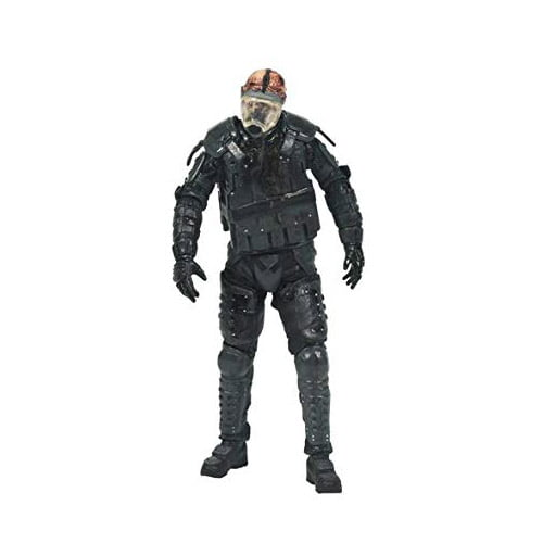THE WALKING DEAD - SERIES 4 - RIOT GEAR ZOMBIE