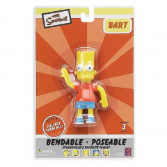 Bart - The Simpsons - Poseable - 10,5 cm