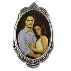 Crepúsculo Amanhecer - Porta retrato com foto da Bella e Edward