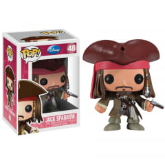 POP! Piratas do Caribe - Jack Sparrow