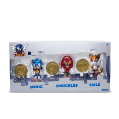 SONIC 25 ANIVERSÁRIO THE HEDGEHOG - SONIC, KNUCKLES, TAILS
