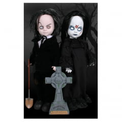 LIVING DEAD DOLLS - MR. GRAVES AND ABIGAIL CRANE