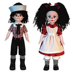 LIVING DEAD DOLLS - ROTTEN - SAM AND SANDY