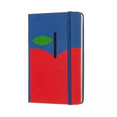 Caderno Moleskine Edição Limitada, Branca de Neve, Maçã, Capa Dura, Pautado, Tamanho Bolso