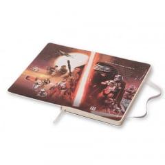 Caderno Moleskine, Edição Limitada Star Wars, Vermelha, Pautado, Grande