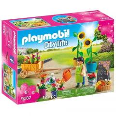 PLAYMOBIL - CITY LIFE - FLORISTA - 9082
