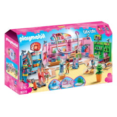 PLAYMOBIL - CITY LIFE - SHOPPING CENTER - 9078