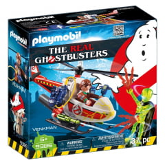 PLAYMOBIL - GHOSTBUSTERS - VENKMAN - HELICÓPTERO - 9385