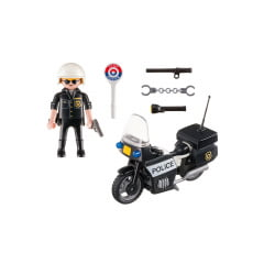 PLAYMOBIL - MALETA - POLICIAL - CITY ACTION - 5648