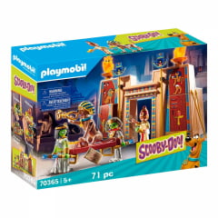 PLAYMOBIL - SCOOBY-DOO - SCOOBY-DOO E SALSICHA NO EGITO - 70365