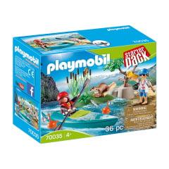 PLAYMOBIL - STARTER PACK - AVENTURA COM KAYAK - 70035