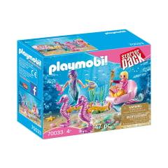 PLAYMOBIL - STARTER PACK - CARRUAGEM COM CAVALOS MARINHOS - 70033
