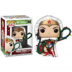 POP! FUNKO - DC HOLIDAY - MULHER MARAVILHA