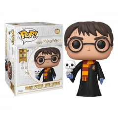POP! FUNKO - HARRY POTTER - HARRY POTTER COM HEDWING - 46 CM