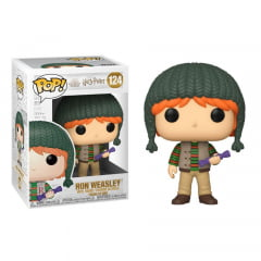 POP! FUNKO - HARRY POTTER - HOLIDAY - RON WEASLEY