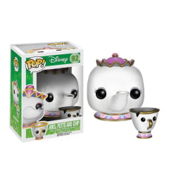 POP! A BELA E A FERA - MRS POTTS & CHIP