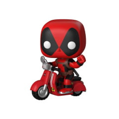 POP FUNKO - DEADPOOL COM SCOOTER