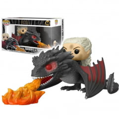 POP! FUNKO - GAME OF THRONES - DAENERYS E FIERY DROGON