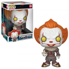 POP FUNKO - IT - PENNYWISE - SUPER SIZE - 25 CM