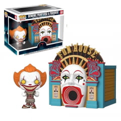 POP! FUNKO - IT - DEMONIC PENNYWISE E FUNHOUSE