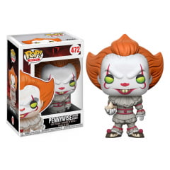 POP! FUNKO - IT - PENNYWISE COM BARCO